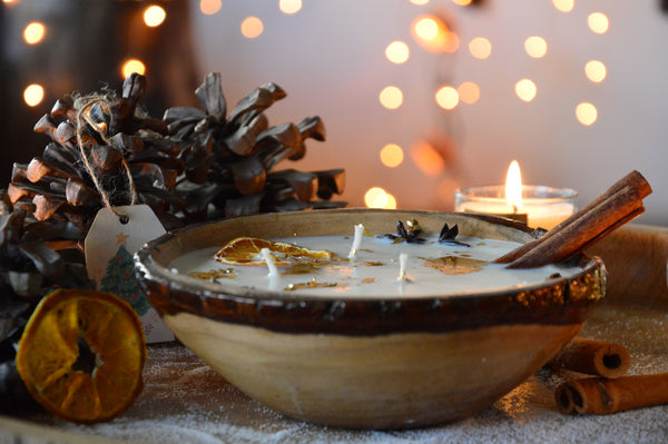 Mulled Wine | Wooden Candle Votive