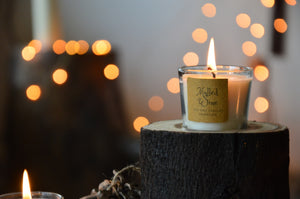 Mulled Wine | Rustic Log Candle