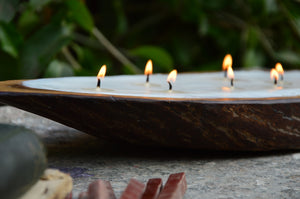 Alleppey Backwaters | Wooden Candle