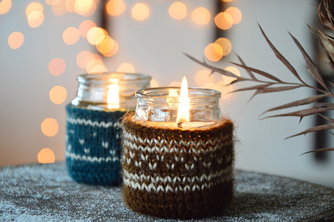 Brown Sweater Candle | Hazelnut Coffee Fragrance