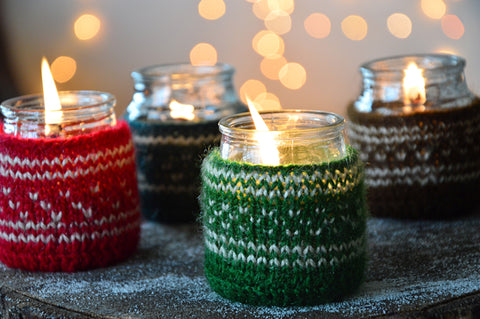 Green Sweater Candle | Pine Fragrance