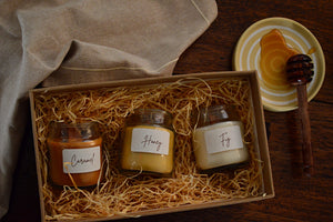 Honey Fig & Caramel Woodwick Candles