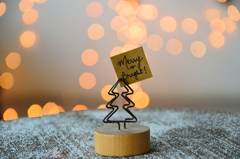 Christmas Tree Note Holder