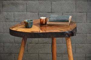 Rustic Log Coffee Table