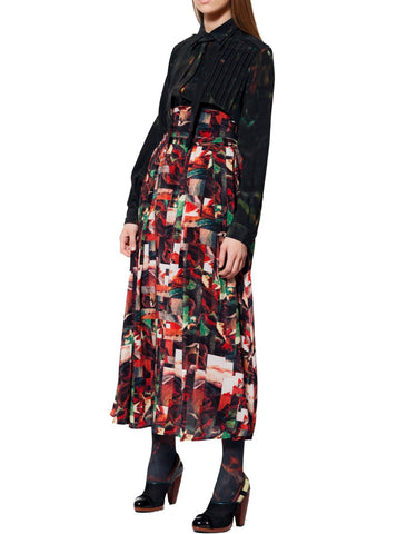 Annie silk skirt Manhattan
