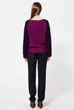 Claire Purple sweater