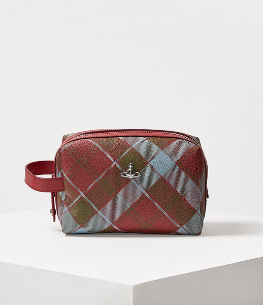 DERBY BEAUTY CASE VIVIENNE'S TARTAN