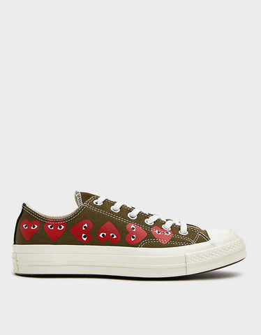 Comme des Garcons Play x Converse multi heart low
