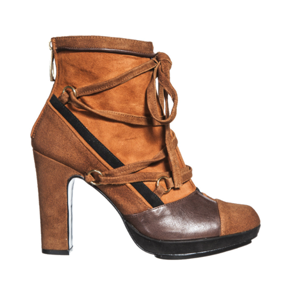 Image result for Go for leather or suede high-heels