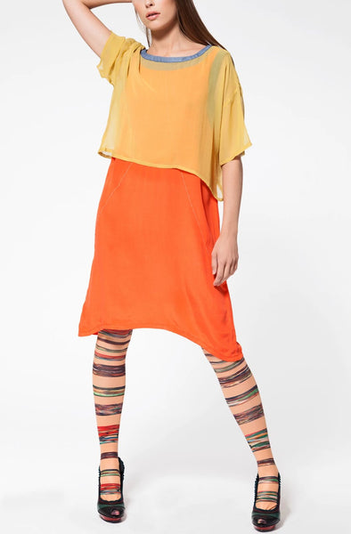 Hedren Orange dress