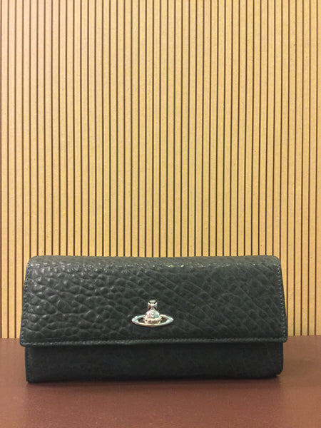 Long Wallet Oxford Green