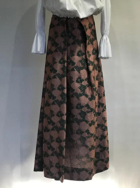 Long Adamant Skirt Pink/Green
