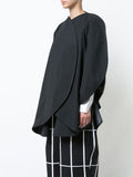 Oversized structured jacket