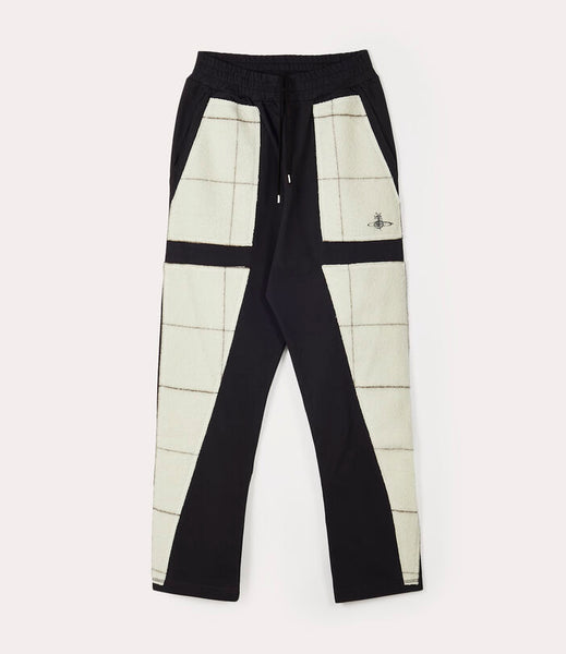 PATCHWORK SWEATPANTS ESPRESSO