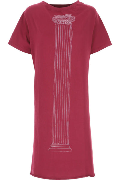 HISTORIC T-SHIRT DRESS BEET RED