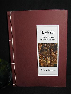 2010 -  Poems translated by CHEN Wing fun & Hervé Collet - Tao l'art de vivre du poète chinois