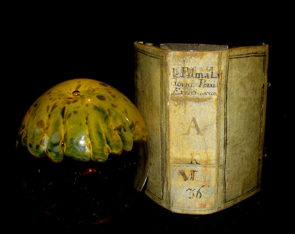 1640 Rare Book with clasps - The Spiritual Exercises taught by Saint Ignatius of Loyola