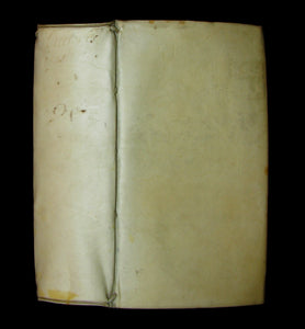 1642 Scarce Latin vellum Book - Letters of Cicero to his friend Atticus - Epistolae ad Atticum