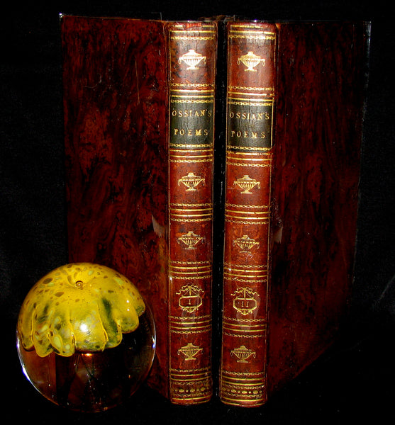 1796 Rare Book set - The Poems of Ossian by James MacPherson