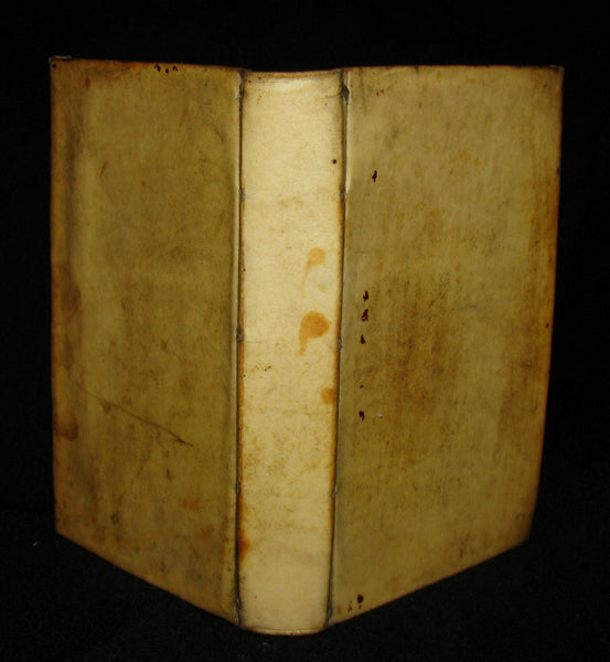 1690 Rare French Vellum Book - Memories of the minority of Louis XIV the Sun King (Roi Soleil)