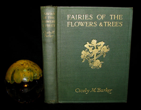 1950 First Edition - Cicely Mary Barker - FAIRIES OF THE FLOWERS AND TREES