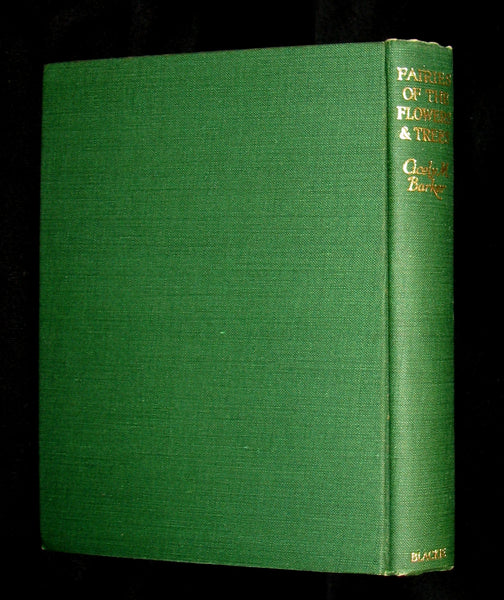 1950 - Cicely Mary Barker - FAIRIES OF THE FLOWERS AND TREES - 1stED with Dust Jacket
