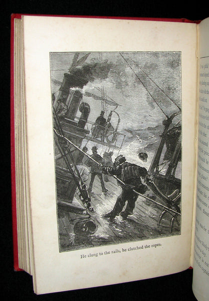 1899 Scarce Edition - JULES VERNE - Godfrey Morgan: A Californian Mystery