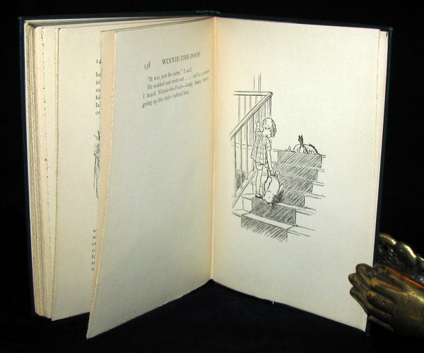 1926 First US Edition - A. A. Milne & Ernest H. Shepard - WINNIE-THE-POOH with dust jacket!