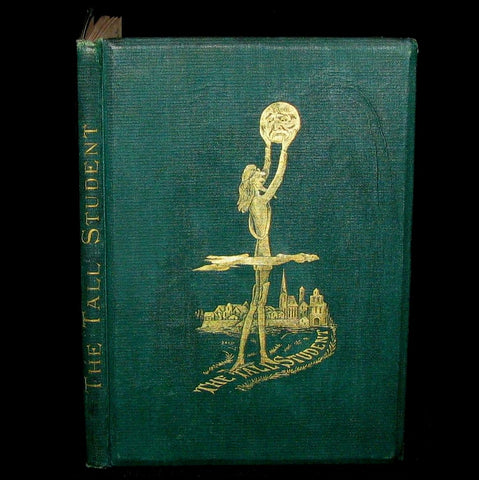 1873 Scarce Victorian Book - The Tall Student. A German Tale by Charles Timothy Brooks