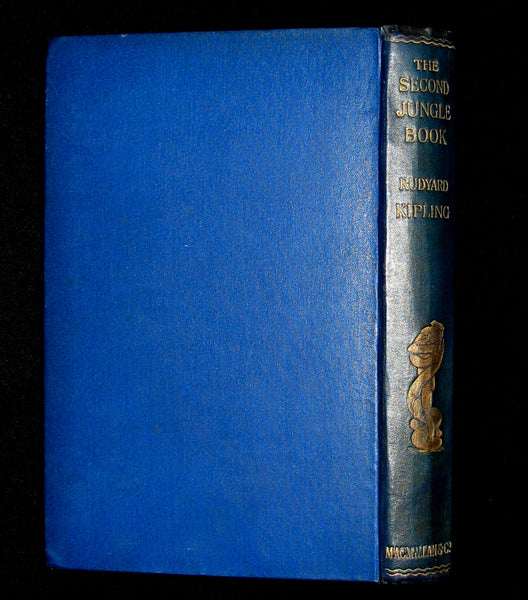 1895 - First Edition Book - The Second Jungle Book by Rudyard Kipling