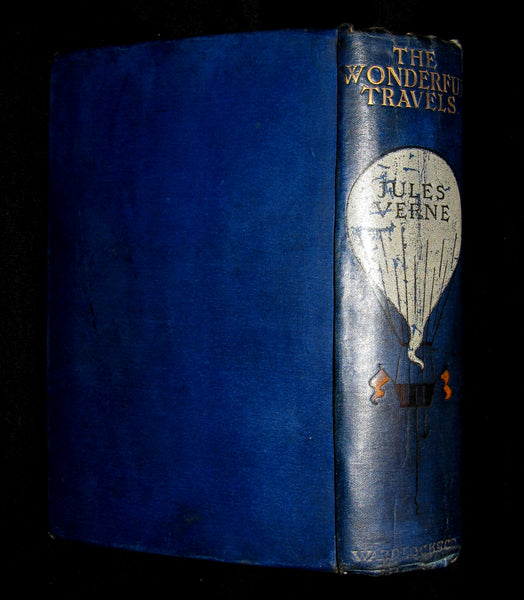 1915 Nice Illustrated Book -  The Wonderful Travels by JULES VERNE