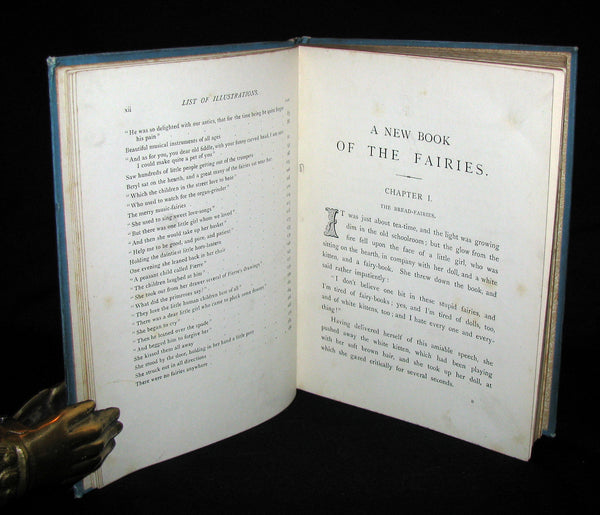 1890 Scarce book ~ A New Book Of The Fairies By Beatrice Harraden illustrated by Edith Lupton