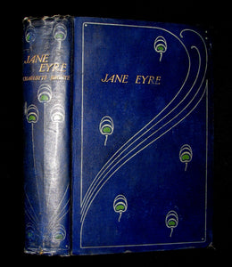 1900 Art Nouveau Binding - JANE EYRE BY CHARLOTTE BRONTE illustrated by John H. Bacon