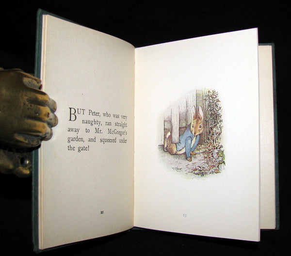 1911 Rare Early American Edition - Beatrix Potter  - THE TALE OF PETER RABBIT