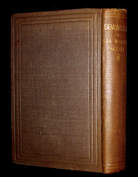 1868 Scarce Edition  - Demonology & Witchcraft - WITCHES & FAIRIES Illustrated. Walter Scott.