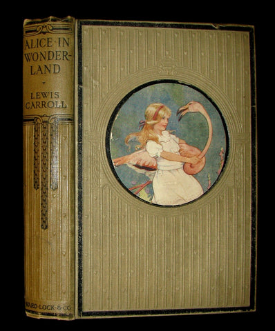 1920 Rare Book -  Alice's Adventures in Wonderland with frontis by Margaret W. Tarrant