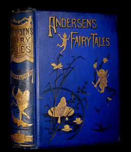 1895 Rare Victorian Book -  Hans Christian Andersen's FAIRY TALES illustrated