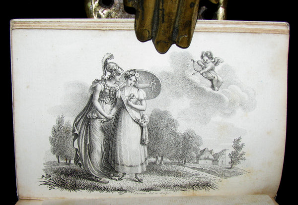 1818 Scarce French Book ~ Les ROSIERES crown of roses for the girl with irreproachable virtue (in slipcase)