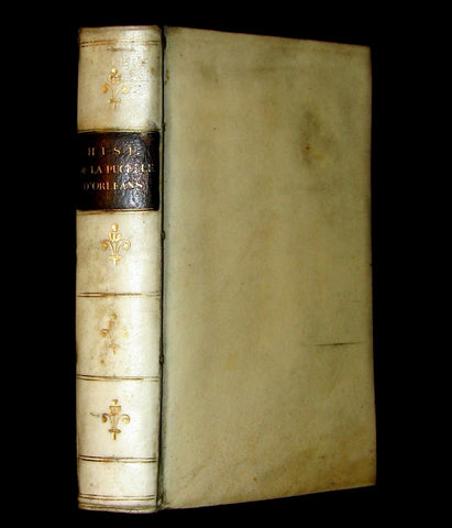 1621 Scarce French Book ~ JEANNE D'ARC et le Siege d'Orleans with JOAN OF ARC portrait.