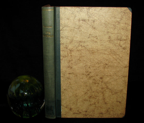 1856 Scarce Science of Fairy Tales Book - OTIA IMPERIALIA by Gervase of Tilbury