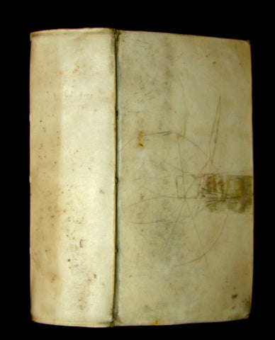 1695 Rare Latin Book - The Lives of the Twelve Caesars by Suetonius - CAESARUM XII VITAE