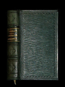 1828 Rare miniature Edition - The Castle of Otranto, a Gothic Story [WITH] Rasselas, A Tale.