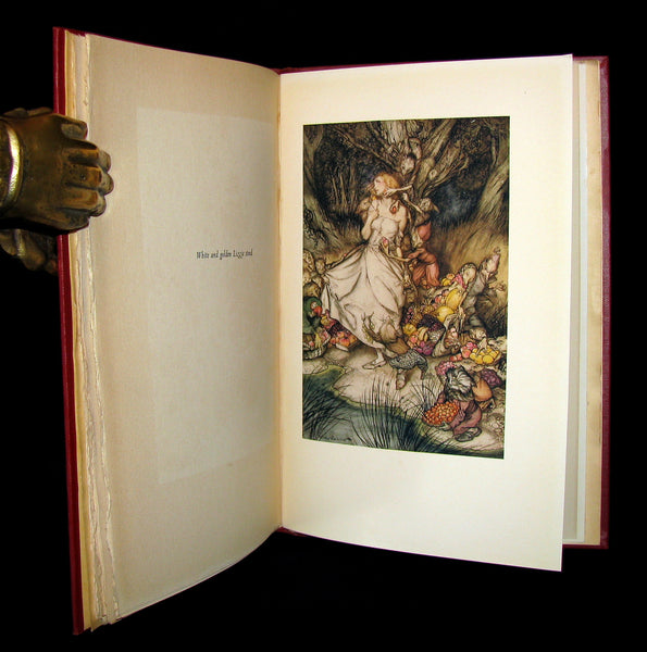 1933 Rare 1st American Edition - Goblin Market by Christina Rossetti illustrated by Arthur Rackham