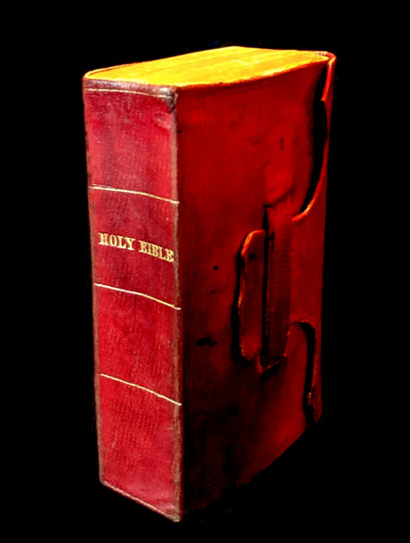 1847 Scarce Pocket Book - Concord, New Hampshire - HOLY BIBLE - Old & New Testament