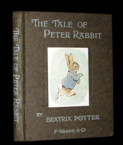 1910 Rare UK early Edition - Beatrix Potter  - THE TALE OF PETER RABBIT