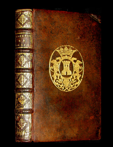 1680 Rare French Armorial Binding - Wisdom Tips Or Solomon's Maxims - CONSEILS de la SAGESSE