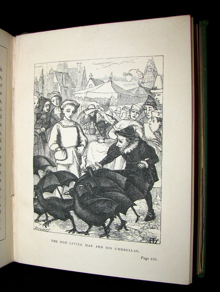 1868 Scarce Book - DEALINGS WITH THE FAIRIES by George Macdonald Illustrated by Arthur Hughes.
