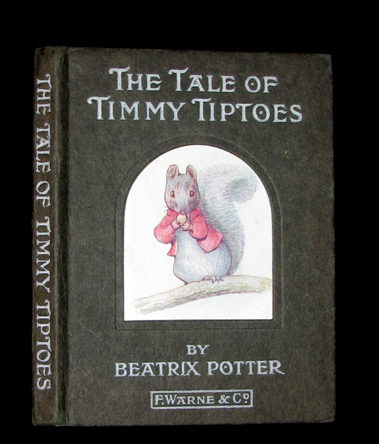 1911 Rare Early American Edition - Beatrix Potter  - THE TALE OF TIMMY TIPTOES