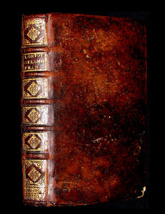 1683 Scarce French Book -La Critique De L'origine De L'auguste Maison De France. Roy Pepin & Hugues de Capet.