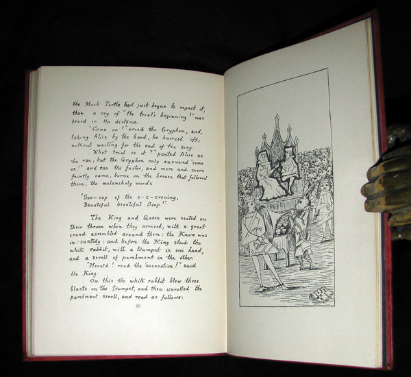 1886 Rare First Edition - Alice's Adventures Under Ground by Lewis Carroll.